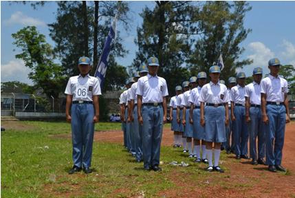 Aksi SMA Negeri 1 Pekalongan di Tingkat Karisidenan